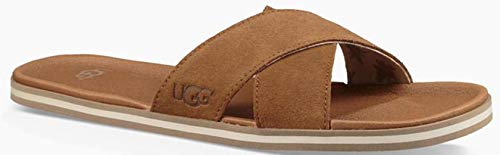 Ugg Chaussures Beach Sandales Tongues Marron Homme