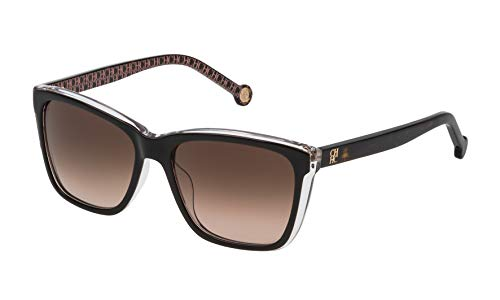 Carolina Herrera Damen SHE6955509W2 Sonnenbrille, Braun (Marrón), 55