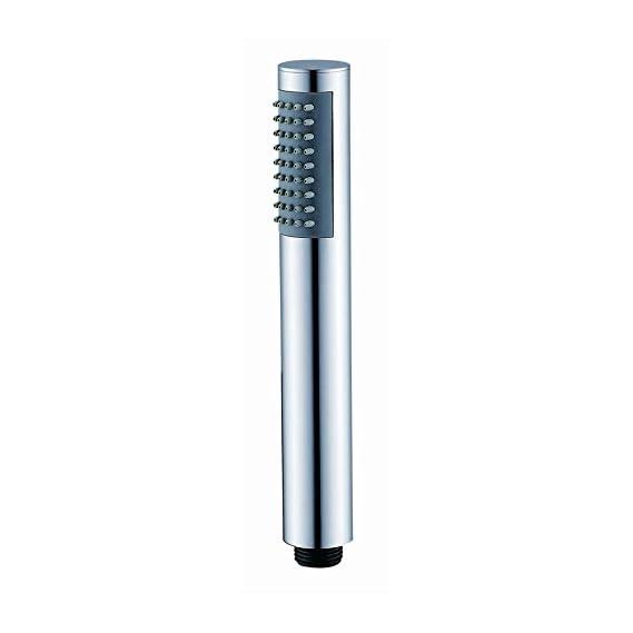 Gesign Round Brass Hand Shower, Single Function