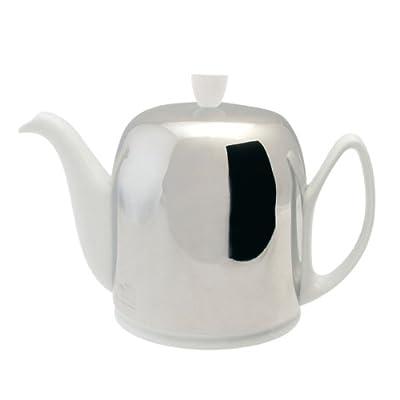 Guy Degrenne Salam Théière Verseuse Porcelaine Blanc 8 Tasses