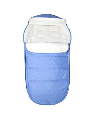 Herbst Winter Warm Baby Decke Schlafsack - Wasserdicht Weich Wickeln Swaddle Sleepsack für Kinderwagen, Grau/Hellblau/Pink [BESBOMIG]