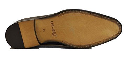 Lacuzzo , Chaussures de ville à lacets pour homme Noir