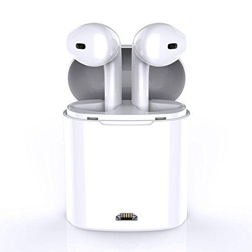 Auriculares inalámbricos Bluetooth TWS, Auriculares estéreo con cargador, altavoz Apple iPhone 8 8plus 7 7plus 6S Samsung Galaxy S7 S8 Smartphone Android IOS