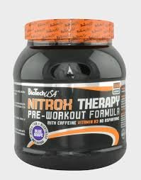 Biotech USA Therapy Nitrox y Energizante Sabor Fruta Tropical - 340 gr