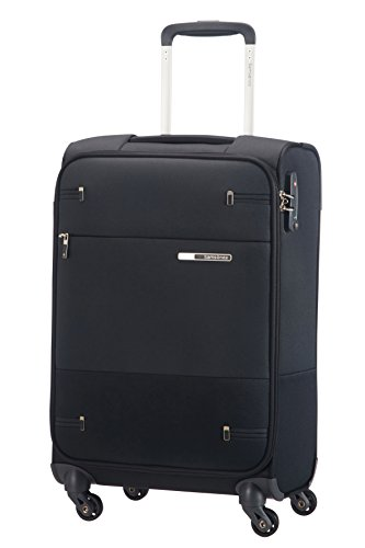 Samsonite Base Boost Spinner Hand Luggage, 55 cm, 35 L, Schwarz