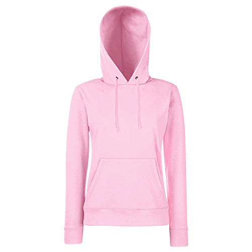 Fruit of the Loom Classic Hooded Sweat Lady-Fit - Farbe: Fuchsia - Größe: M