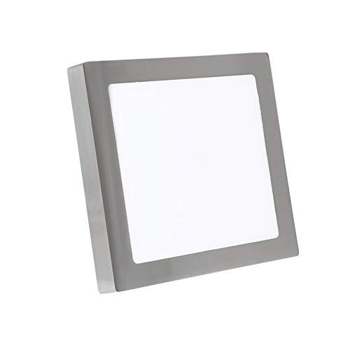 Yaione Professionelle beleuchtung led downlight aluminium embedded feuer panel licht ip44 wasserdicht flutlicht geeignet für büro restaurant bad schlafzimmer gang deckenleuchte scheinwerfer [energiekl -