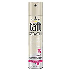Schwarzkopf Taft Keratin Hair Spray Ultra Strong(4) 250ml