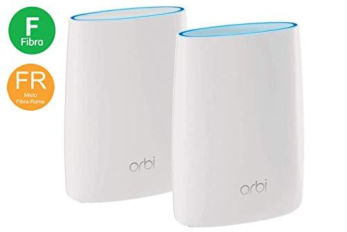 Foto Netgear RBK50 Orbi WiFi Mesh Triband AC3000, Potente Sistema WiFi Mesh,...
