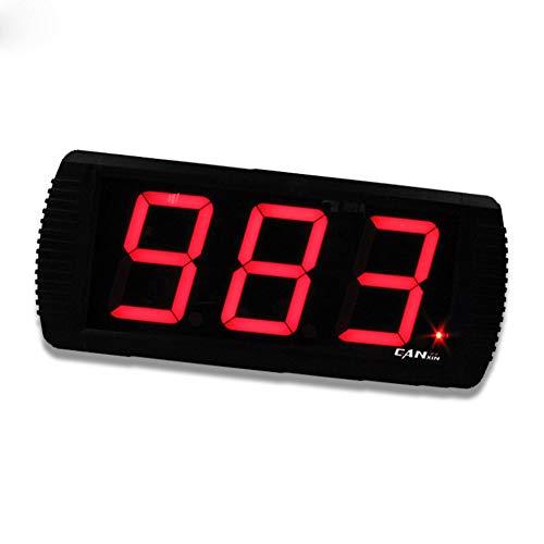 r 4 Zoll 3 Digit 999 Elektronischer Zähler mit Fernbedienungsfunktion ()