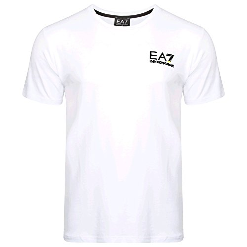 Emporio Armani .. Herren T-Shirt, Logo Gr. L, WHITE SMALL LOGO