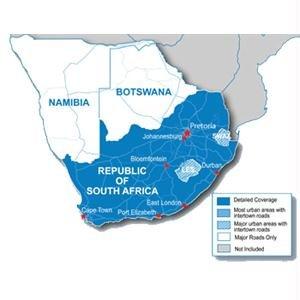 Garmin MapSource CN mSD South Africa, 010-11595-00 (South Africa) Mapsource-software