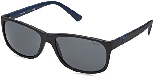 Polo Ralph Lauren Herren 0Ph4109 528487 59 Sonnenbrille, Schwarz (Black/Grey),