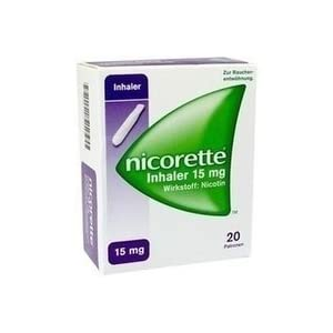 Nicorette Inhaler 15mg 20 stk