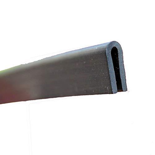 rot 1,5 mm EUTRAS Kantenschutz KSO4004 Keder Schutzleiste 3 m f/ür Kanten 0,4