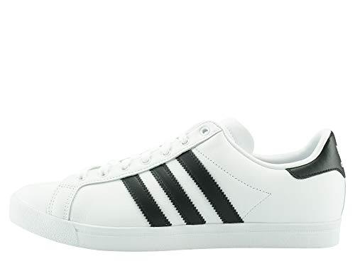 adidas Herren Coast Star Sneaker, Weiß Core Black/Footwear White 0, 41 1/3 EU