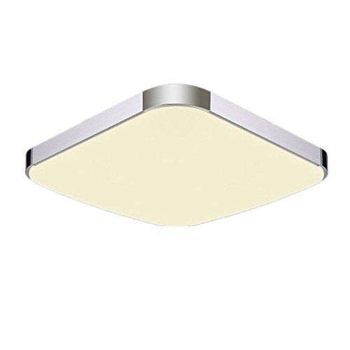 MCTECH 18W Warmweiß LED Deckenleuchte Modern Deckenlampe Flur Wohnzimmer Lampe Schlafzimmer (Warmweiß) -
