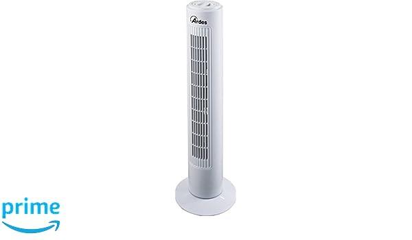 Ardes ar5t75/Freedy Ventilateur /à tour 75/cm oscillation automatique blanc