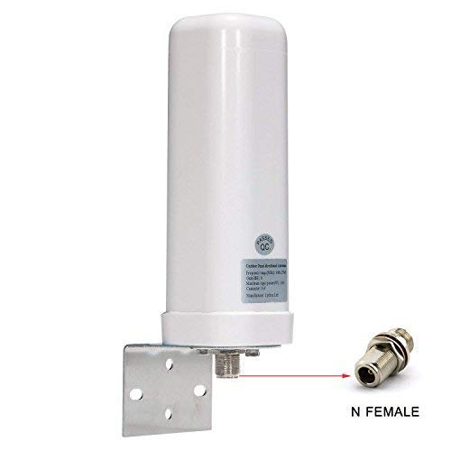 Lysignal Outdoor Omni-Directional Antenna 698 to 2700MHz 9dBi for Moble Signal Booster Wide Band Directional Antenna
