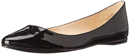 Nine West Speakup Ballet Synthetic Flat Black