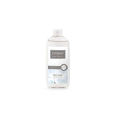 Blanc coton, Weiße Baumwolle - Estéban Raumduft Boukett Nachfüllflasche Esteban