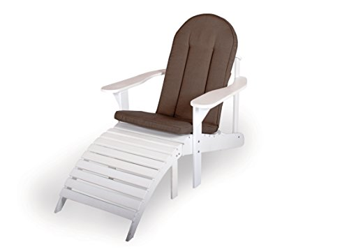 Sitzauflage für Adirondack Gartenstuhl oder Gartenbank, taupe