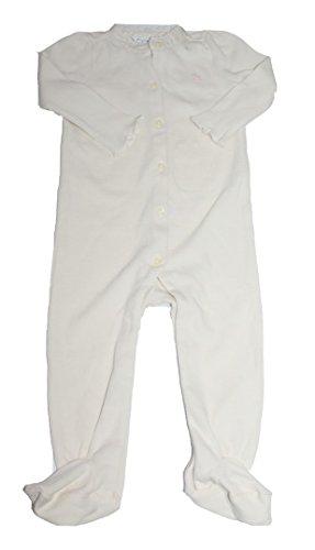 Polo_Ralph Lauren Baby Mädchen (0-24 Monate) Spieler Gr. 9 Monate, cremefarben