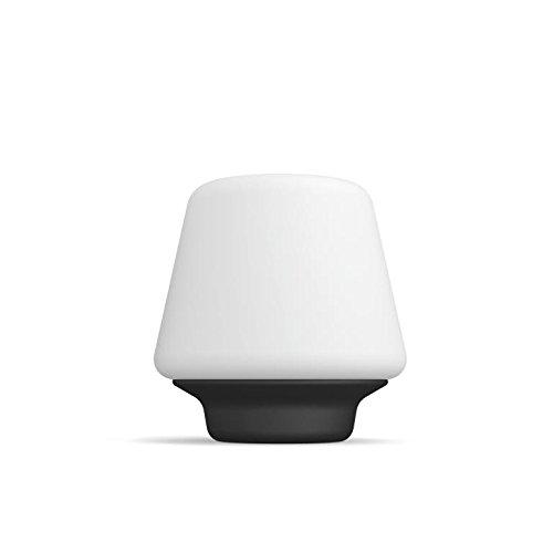 Philips Hue LED Tischleuchte Wellness inkl. Dimmschalter, dimmbar, alle Weißschattierungen, steuerbar via App, weiß, kompatibel mit Amazon Alexa (Echo, Echo Dot) (Helfen Sie Mit Amazon Echo)