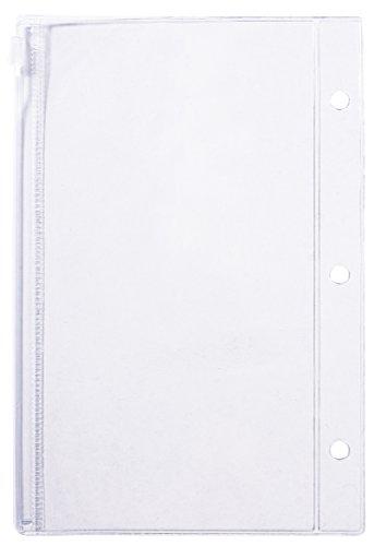 Rayher 60795000 Kunststoffhülle mit Zipper, A5, 2 Stück - Zip-n-griff