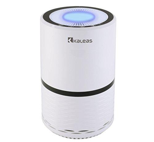Kaleas APF-15 Air Purifier Luftreiniger Ionisierer mit HEPA-Filter gegen Hausstaub, Feinstaub, Pollen, Hausstaubmilben, ideal für Allergiker und Asthmatiker (63115)
