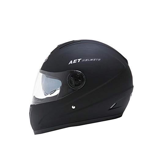 likeitwell Casco Moto Modular Integral con Doble Visera En Negro Mate · Casco De Moto Motoclicleta Ciclomotor