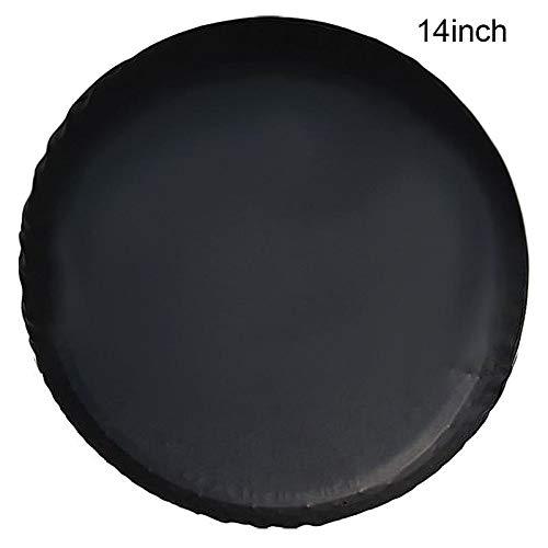 Domeilleur 14-17 Zoll Universal Reifenabdeckung PVC Auto Reifenabdeckung für Auto Felgenzubehör, 14Inch