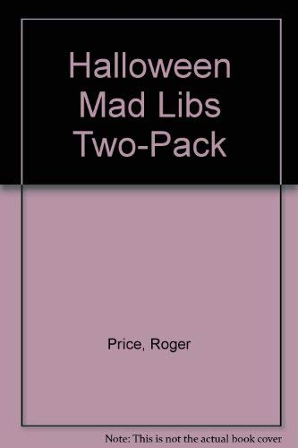 Halloween Mad Libs two-pack