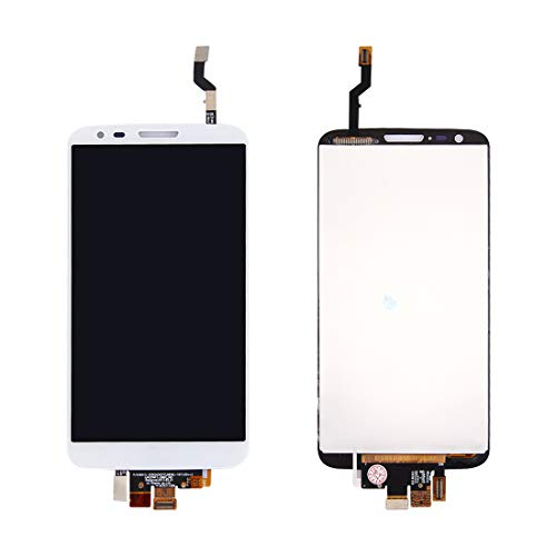 Bigoo Für LG Neues Mobiltelefon-LCD-Display und Digitizer-Komplettaufbau for LG G2 / D802 / D805, Schwarz/Weiß (Lg G2 Display Lcd Austausch)