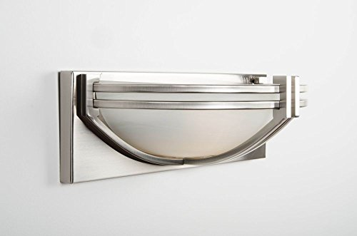 Cotterell & Co Los Angeles Satin Nickel Wall Light