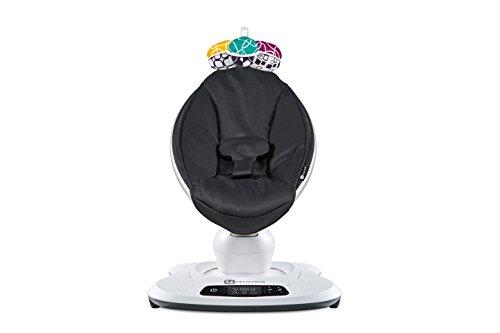4moms mamaRoo 4 infant seat - black classic