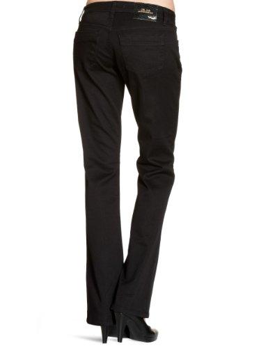LTB Jeans Damen Boot-Cut Jeans Valerie, Schwarz (BLACK 200), 26W / 34L -