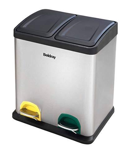Beldray Papelera Reciclaje la042392Cubo Basura Pedal
