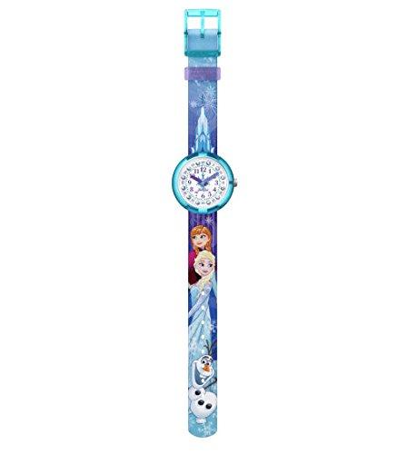 FlikFlak Mädchen Analog Quarz Uhr mit Stoff Armband FLNP027 - 2