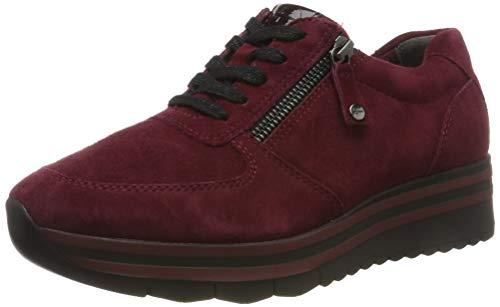 Tamaris Damen 1-1-23740-33 538 Sneaker, Rot (MERLOT SUEDE 538), 40 EU
