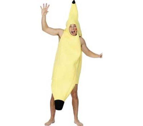 Kostüm Smiffys Banane - Erwachsenen-Kostüm Unisex Banane - Einheitsgröße