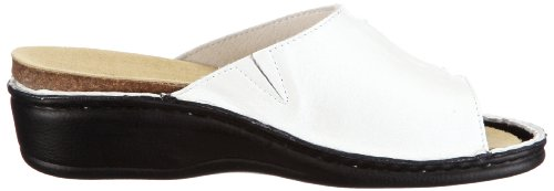 Hans Herrmann Collection Siena 022095E-20 Damen Clogs & Pantoletten Weiss/Bianco