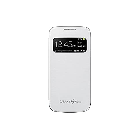 Samsung Original EF-CI919BWEG Coque pour Samsung Galaxy S4 Mini S - Blanc