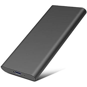 Disco Duro Externo 2 TB, Disco Duro Externo Type C USB3.1 para PC ...