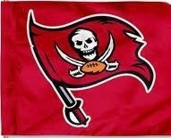 TAMPA BAY BUCCANEERS Car Flag by Rico