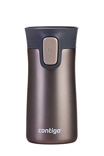 Contigo Pinacle 10 - Termo antigoteo, color café, 300 ml