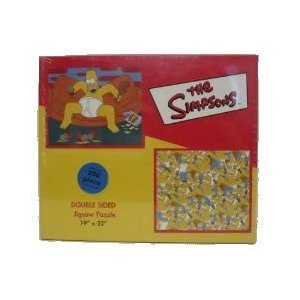 The Simpsons 200 Piece Double Sided Jigsaw Puzzle by BV Leisure