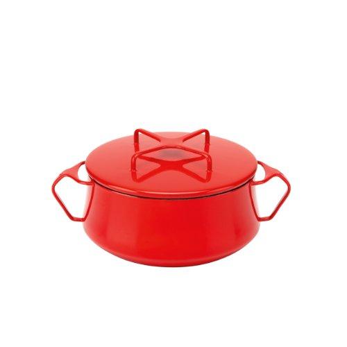 Dansk Kobenstyle Chili Red Casserole, 2-Quart