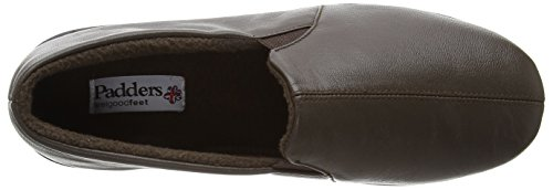Padders  Ben, Slips-on sans doublure homme Marron