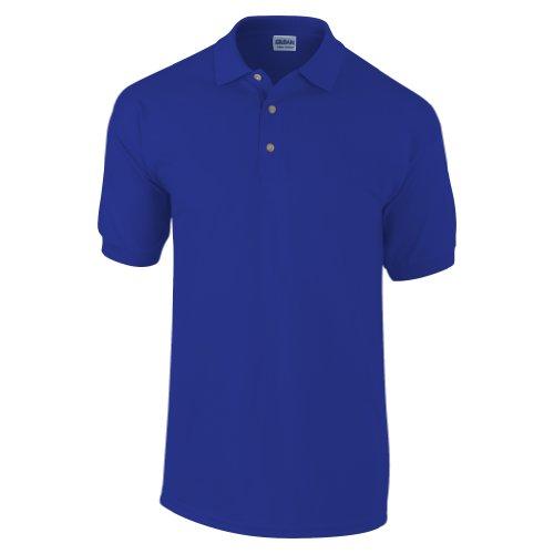 Gildan - Polo de manga corta para hombre/Caballero Modelo Pique - 100% algodón calidad de primera (Extra Grande (XL)/Azul )